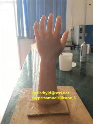Coffre-fort de la Peau de silicone liquide pour les mains de moulage en caoutchouc