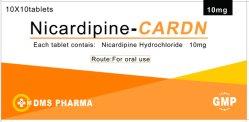제조자 Nicardipine 염산염은 10mg를 메모장에 기입한다
