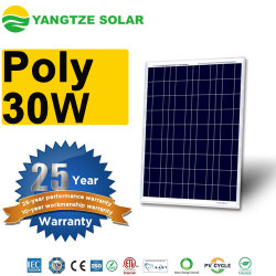 普及した12V 30Wの多ペットによって薄板にされる太陽電池パネル