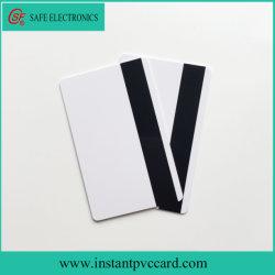 Двойной стороны Версия для печати пустой Mag для струйной печати фрагмента карты из ПВХ