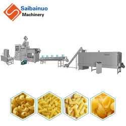 Jinan Saibainuo rapidez de entrega automática de corte largo corto Sin Gluten Pasta macarrones espaguetis el procesamiento de la línea que la máquina