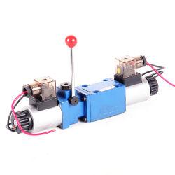 valvola idraulica idraulica direzionale manuale della valvola di regolazione della valvola di regolazione del solenoide 4WEMM6