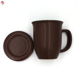 2つのふた、コーヒー・マグが付いている調子によって艶をかけられる陶磁器のティーカップ