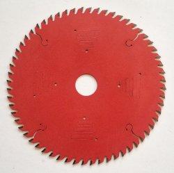 60 het Blad van de Cirkelzaag van het Carbide van tanden voor Plastiek van de Raad van het Knipsel het Harde Houten Gelamineerde