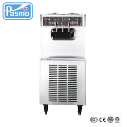 Pasmo Duplo Sistema de Controle Soft servem sorvete máquina