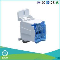 Выступ11-80A на рейку DIN меди клад алюминиевых шинной системы клеммной колодки