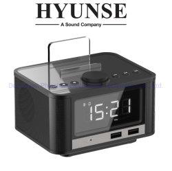 2019 Maison Intelligente réveil Bluetooth L'orateur avec radio FM Fonction Snooze un port USB M7