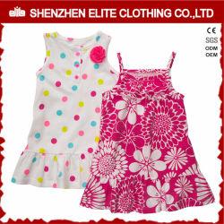 Kleinkind-Mädchen-Sommer-Set-Baby-Partei-Abnützung-Kleid (ELTBCI-11)