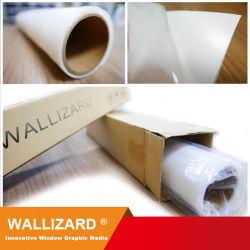 Pet transparente UV Wallizard Wl-Pet115u1c9-Ez película extraíble para decoración de cristal sin residuo la impresión de film para publicidad