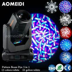Luz de estágio 470W Fase Beam movendo cabeça local de lavagem a luz do feixe 3NO1 Luz de DJ