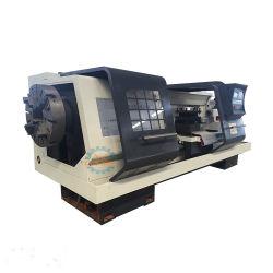 Ck245 большой отверстии шпинделя используется для металлической трубы Threading токарный станок с ЧПУ режущие машины