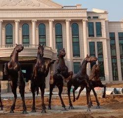 屋外のBulidingの馬の彫像の青銅か大理石または石またはFiberglasssの馬の彫刻