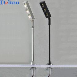 LED de iluminação de jóias de pedestal para exibição de gabinete