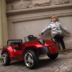 Gro?handelsplastikkind-elektrisches Auto für Kinder fahren im Freien