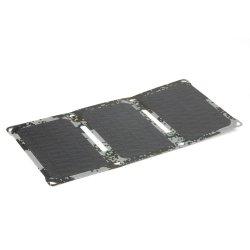 Portátil USB solar 18W Batería del teléfono móvil Banco de potencia del cargador de panel plegable cargador de la mano
