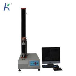 La colonne unique Machine d'essai de traction pour le matériel en PVC
