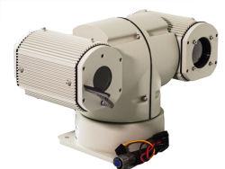 كاميرا ليزر PTZ طويلة المدى تعمل بالأشعة تحت الحمراء IP بقدرة 300 م للرؤية الليلية