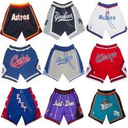 Commerce de gros juste Don N-B-d'un M-L-B Putian Pantalon de Baseball Shorts basket-ball