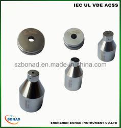 Precision IEC60061 IEC60968 E14 a dureza do medidor de luz feitos de aço