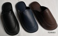 Различных видов текстиля или PU верхний для использования внутри помещений и тапочки для мужская