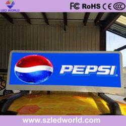 P5 im Freien farbenreiche LED Taix Dach-Bildschirm-Bildschirmanzeige für das Bekanntmachen