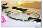 Ausgedehnte Ring-ausgeglichenes Glas-Kappen mit Drehknopf