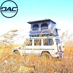 Das kampierende reisende automatische Segeltuch-Zelt knallen oben dachspitze-Auto-Dach-Oberseite-Zelt des Aluminium-SUV Selbst