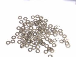 De Vlakke Wasmachines DIN125, 127, DIN9021 van het titanium