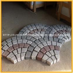 De natuurlijke Kerbstone van het Graniet G603 G654 G687 G682/Cobble Steen/Steen van de Rand/van de Kubus