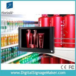 """7 """" supermarché Ad écrans LCD de chant avec IR capteur de mouvement du corps"""