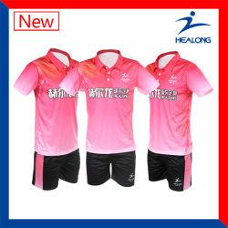 Healong Good Design sublimação da Engrenagem de vestuário desportivo Senhoras Ténis de Mesa uniformes