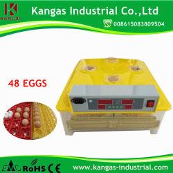 에너지 절약형 CE 인증 완전 자동 디지털 48 계란 미니 인큐베이터