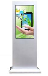 Plancher 21.5~86 pouces étanches IP65 permanent haute luminosité LCD HD Publicité de plein air Media Monitor Android 3G/4G La signalisation numérique Ad Player