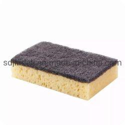 Absorbente de celulosa natural multiuso ecológica la esponja de limpieza para cocina