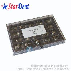 Aparelhos Ortodônticos dentários Banda do produto com o conjunto tubo/Roth ou Banda B-Tm com tubo