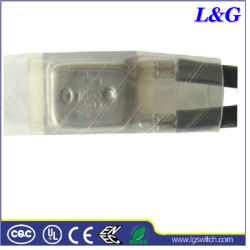 17ami 75c N. C fusible thermique protecteur de l'interrupteur de température utilisé couverture électrique
