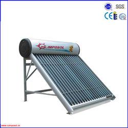 aquecedor solar de água pressurizada compacto com marcação CE