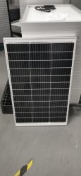 وحدة شمسية للوحة الطاقة الشمسية بقدرة 100 واط و110 واط و120 واط لضوء الشارع الشمسي