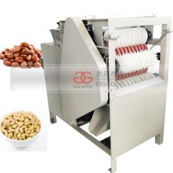 O peeling húmido de amêndoa automática máquina Máquina de descamação da pele de amendoim