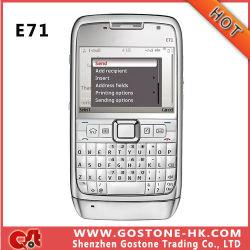 لوحة مفاتيح E71 WiFi GPS 3G Mobile Phone Qwerty أصلية (E71)
