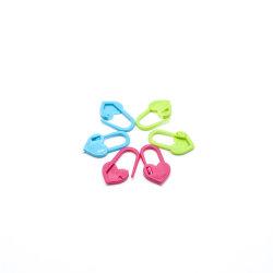 다채로운 플라스틱 안전핀 자물쇠 스티치 마커