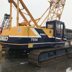 Machine de construction utilisé au Japon Kobelco 7050 P&H grue à chenille 50tonne pour la vente