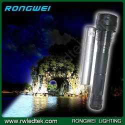 Lampe de poche rechargeable portable 2cale IP67 35W Lampe torche puissante