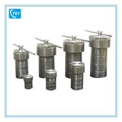 PTFE 라이닝이 있는 소형 스테인리스 스틸 200C 고온 고압 고압 오토클레이브