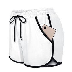 شعار عادي عالي الجودة أزياء غير رسمية من القطن جوجر سروال النساء