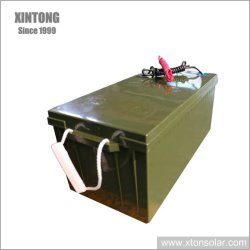 batteria solare del gel 80ah/litio per il cambiamento solare dell'indicatore luminoso di via del LED