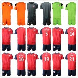 Kit Kids Soccer Camisolas casa longe Terceira 2019 2020 Bamba Celik Leão Football