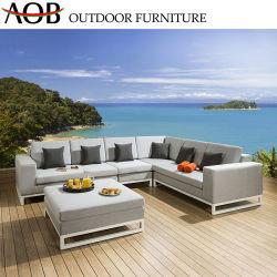 Chinesisches modernes im Freiengarten-Patio-Hotel stellt Freizeit-Aluminiumsofa-Nichtstuer-Stuhl-Möbel ein
