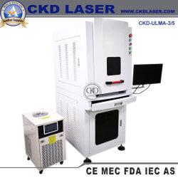 Machine d'impression du marquage laser UV pour Logo Numéro de série repère date sur le Métal en plastique en cuir de verre Jade etc.