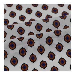 Печать с цветочным рисунком Habijabi ткань в 100%полиэстер для одежды